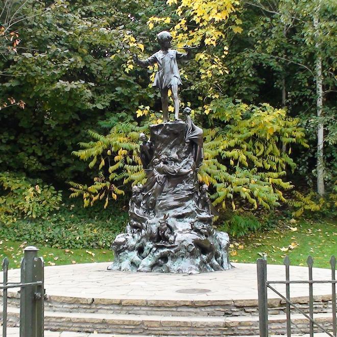 Peter Pan In Kensington Gardens London Remembers Aiming