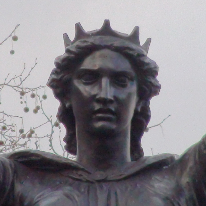 Boadicea statue | This 1902 bronze group stands on the