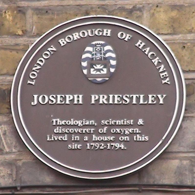 Joseph Priestley - E5 : London Remembers, Aiming to capture all memorials  in London