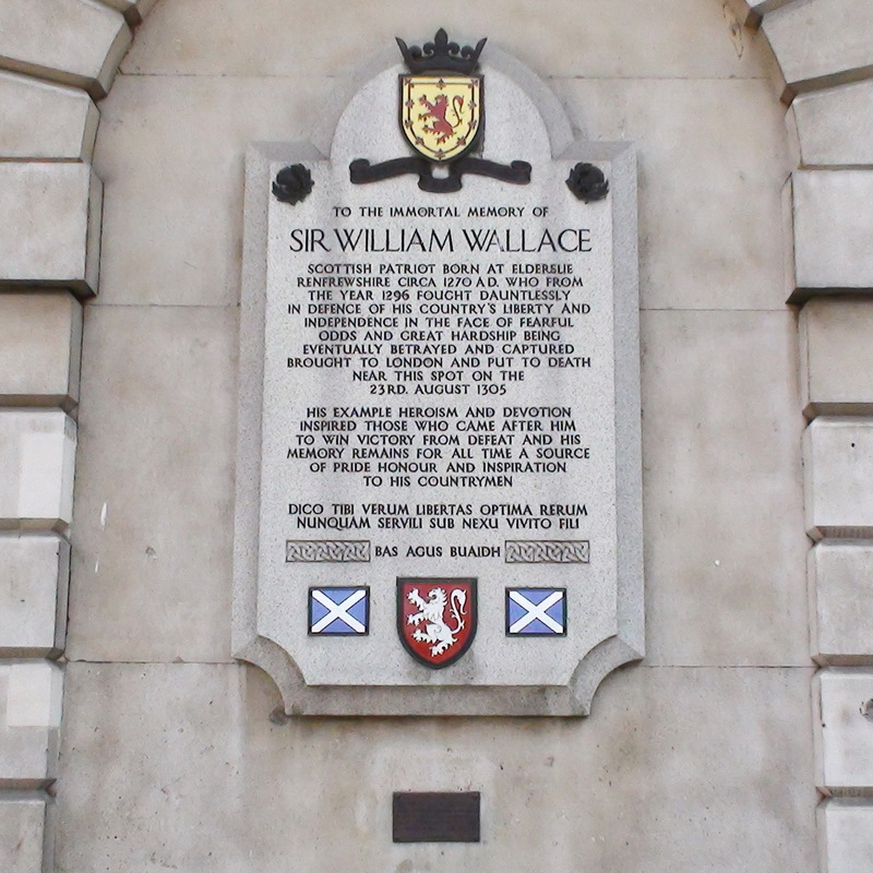 St Bartholomew's Hospital - Sir William Wallace : London Remembers, Aiming  to capture all memorials in London