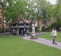 Charles II statue