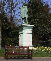 Sir Sydney H Waterlow - Highgate statue