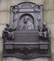 W.S. Gilbert monument