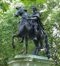 William III statue - SW1
