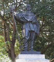 Captain Scott statue