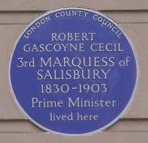 Prime Minister Salisbury