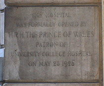 E G Anderson Hospital and the Prince of Wales