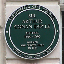 Sir Arthur Conan Doyle - W1