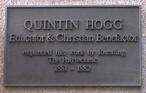 Quintin Hogg at the Poly