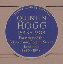 Quintin Hogg at Cavendish Square