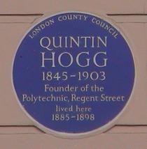 Quintin Hogg at Cavendish Square