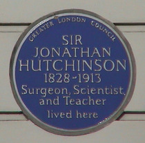 Sir Jonathan Hutchinson