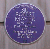 Sir Robert Mayer
