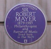 Sir Robert Mayer