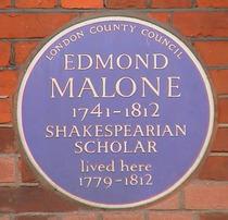 Edmond Malone