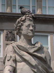 George II statue in Golden Square