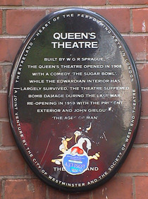 Queen's Theatre - Wardour Street