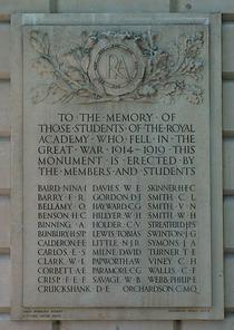 RA War Memorial