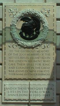 Artists Rifles War Memorial