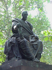 Charles James Fox - statue