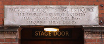 Palace Theatre - stage door