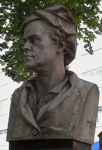 William Hogarth bust
