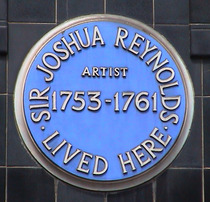 Sir Joshua Reynolds - Great Newport Street