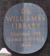 Dr Williams's Library