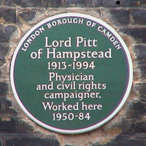 Lord Pitt of Hampstead