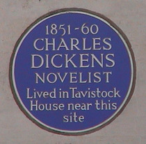 Charles Dickens home - WC1