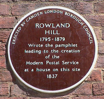 Rowland Hill - WC1 (Camden)