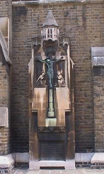 Holy Cross Church, World War 1 Cross