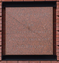British Library- Foundation Stone