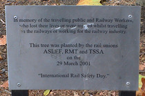 Railway deaths