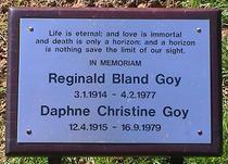 Reginald & Daphne Goy