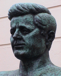 John F. Kennedy in Marylebone Road