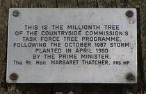 Millionth Tree - Victoria Embankment Gardens