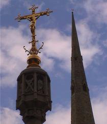 Memorial Cross at Lancaster Gate