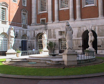 World War 2 fountain at BMA