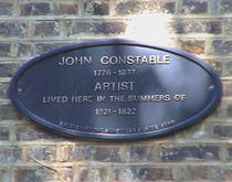 John Constable in Hampstead