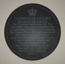 Hobhouse Court - restoration