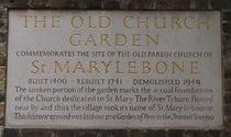 Old Church Garden - site