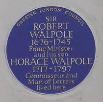 Robert & Horace Walpole