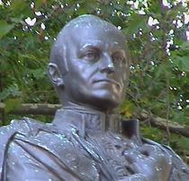 Lord Curzon statue