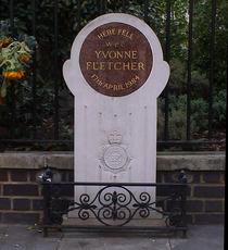 WPC Yvonne Fletcher memorial