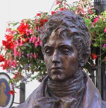 Beau Brummell statue