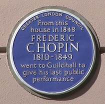 Frederic Chopin - St James's Place