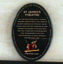 St James's Theatre - SWET