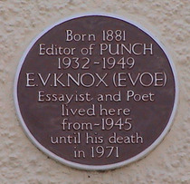 E. V. Knox & Punch