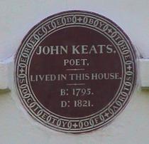 John Keats - NW3